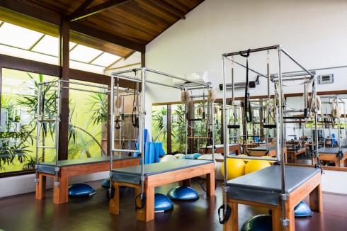 Trapézio para a prática de Pilates